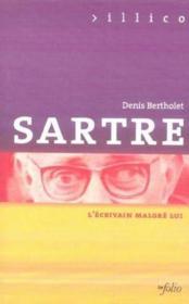 Sartre L'Ecrivain Malgre Lui - Couverture - Format classique