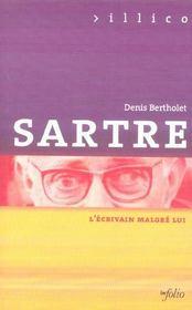 Sartre L'Ecrivain Malgre Lui - Intérieur - Format classique