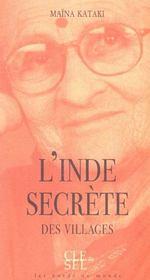 L'Inde Secrete Des Villages - Intérieur - Format classique