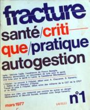 Fracture N°1 du 01/03/1977 - Couverture - Format classique