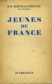 Jeunes De France. - Couverture - Format classique