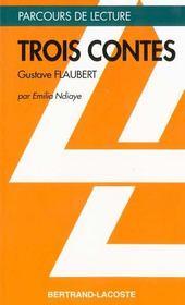 Trois contes flaubert - Intérieur - Format classique