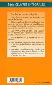 Trois contes flaubert - 4ème de couverture - Format classique