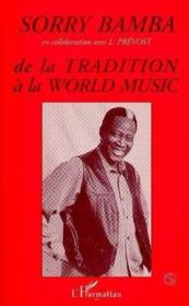 De la tradition à la world music - Couverture - Format classique