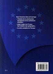Les 27 pays de l'union européenne ; histoire et géographie - 4ème de couverture - Format classique