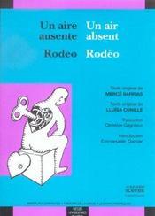 Une Aire Ausente Un Air Absent Rodeo Rodeo - Intérieur - Format classique