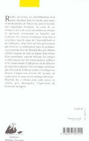 Charivari - 4ème de couverture - Format classique