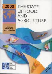 State of food and agriculture 2000 - Couverture - Format classique