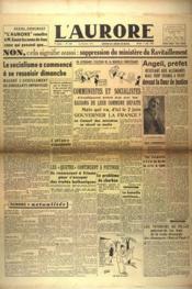 Aurore (L') N°535 du 07/05/1946 - Couverture - Format classique