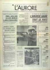 Aurore (L') N°8707 du 30/08/1972 - Couverture - Format classique
