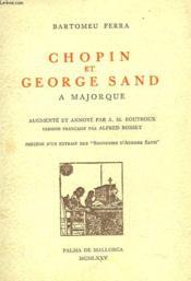 Chopin Et George Sand A Majorque - Couverture - Format classique
