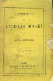 L'Aventure De Ladislas Bolski - Couverture - Format classique
