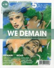 Vente livre :  WE DEMAIN N.18  - Collectif - We Demain