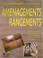 Amenagements Et Rangements - Couverture - Format classique