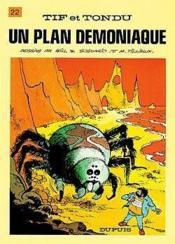 Un Plan Demoniaque - Couverture - Format classique