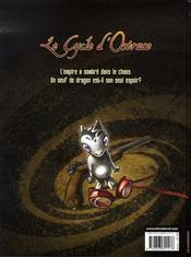 Le cycle d'ostruce t.1 ; l'héritier du dragon - 4ème de couverture - Format classique