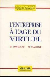 L'Entreprise A L'Age Du Virtuel - Couverture - Format classique