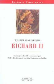 Richard II, de William Shakespeare - Intérieur - Format classique