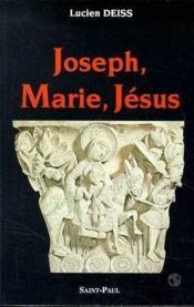 Joseph, Marie, Jésus - Couverture - Format classique
