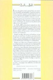 Minceur - 4ème de couverture - Format classique