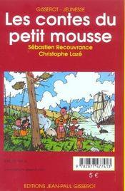 Les Contes Du Petit Mousse - 4ème de couverture - Format classique