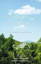 Resonances Au Coeur Du Silence - Contemplations Quotidiennes - Couverture - Format classique