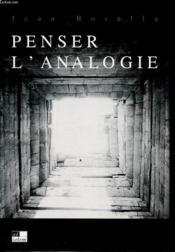 De L'Analogie - Couverture - Format classique