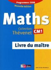 Mathematiques ; CM1 ; livre du maitre