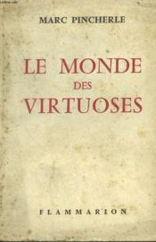 Le Monde Des Virtuoses. - Couverture - Format classique