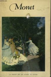 Claude Monet. ( 1840 - 1926 ). Collection : Le Grand Art En Livres De Poche N° 25 - Couverture - Format classique