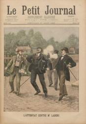 Petit Journal Illustre (Le) N°458 du 27/08/1899 - Couverture - Format classique