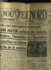 Le Nouveau Nord Maritime N°917 - 5eme Annee - Jeudi 20 Octobre 1949. - Couverture - Format classique