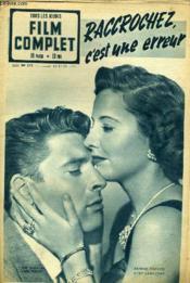 Tous Les Jeudis - Film Complet N° 232 - Raccrochez C'Est Une Erreur - Couverture - Format classique