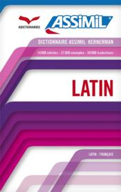 Dictionnaire latin  - Collectif
