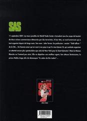 Sas t.2 ; le sabre de bin-laden - 4ème de couverture - Format classique