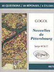 Gogol Nouvelles De Petersbourg - Intérieur - Format classique