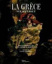 La Grèce vue d'en haut - Couverture - Format classique