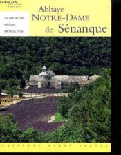 Abbaye notre-dame de senanque - Couverture - Format classique
