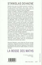 La Bosse Des Maths - 4ème de couverture - Format classique