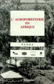 Agroforesterie En Afrique - Couverture - Format classique