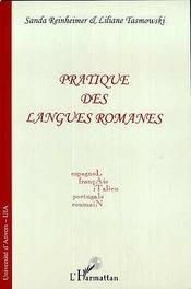 Pratique Des Langues Romanes - Intérieur - Format classique