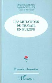 Les Mutations Du Travail En Europe - Intérieur - Format classique