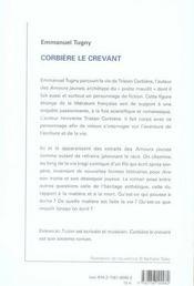 Corbiere Le Crevant - 4ème de couverture - Format classique