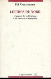 Lettres Du Nord - Couverture - Format classique