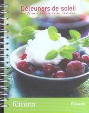 Déjeuners de soleil, les carnets de cuisine du week-end - Intérieur - Format classique