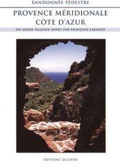Rando pédestre Provence, côte d'Azur - Intérieur - Format classique