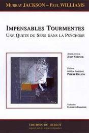 Impensables tourmentes ; une quete du sens dans la psychose - Intérieur - Format classique