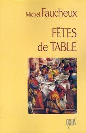 Fetes De Table - Intérieur - Format classique
