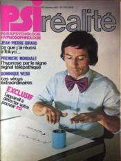 Psi Realite N°1 du 01/10/1977 - Couverture - Format classique