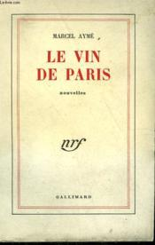 Le Vin De Paris. - Couverture - Format classique